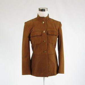 Talbots brown long sleeve jacket 2